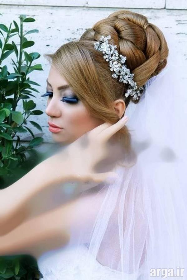 مدل مو زیبا عروس