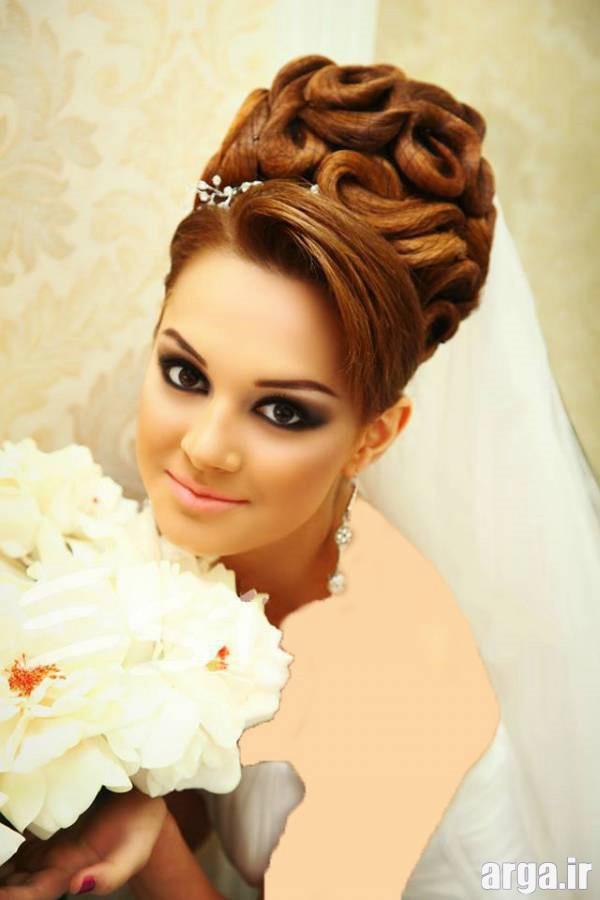 یک مدل موی شیک برای عروس