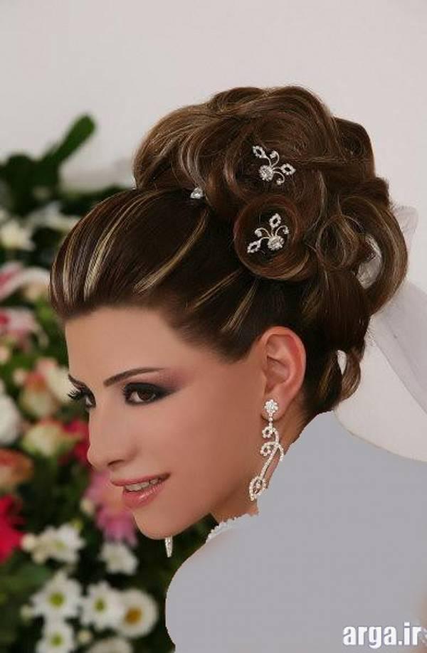 مدل مو جذاب عروس