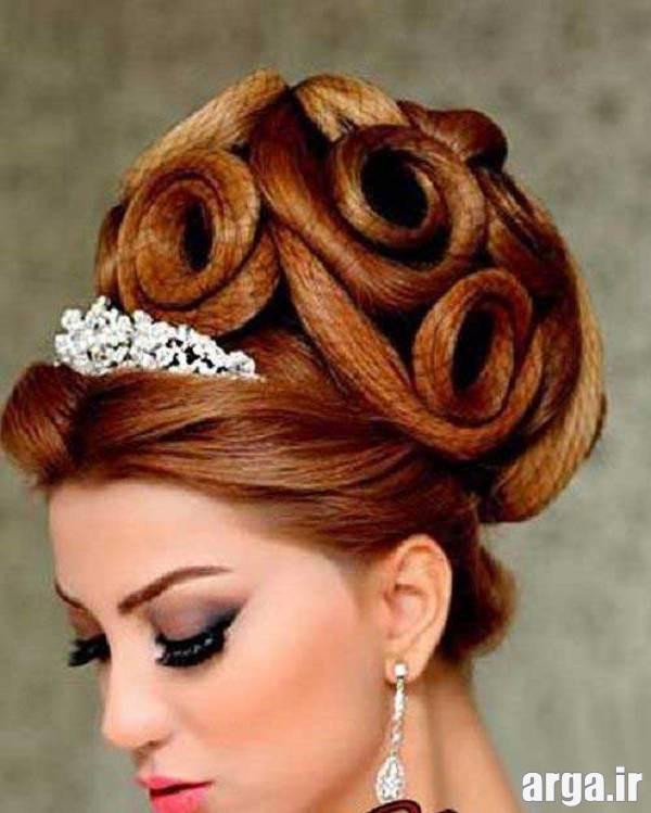 مدل موی جدید و زیبای عروس