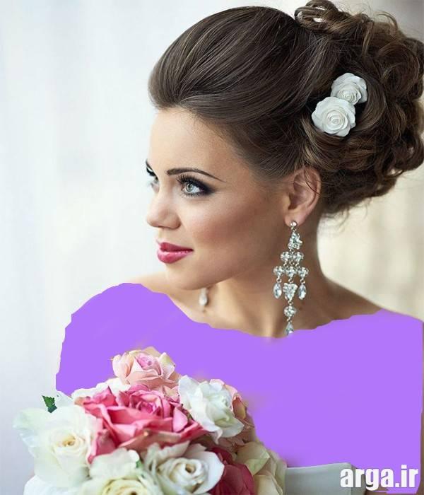 دومین مورد از عکس های مدل مو عروس