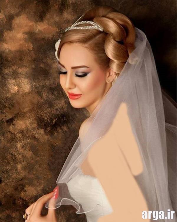 مدل موی ملوس عروس