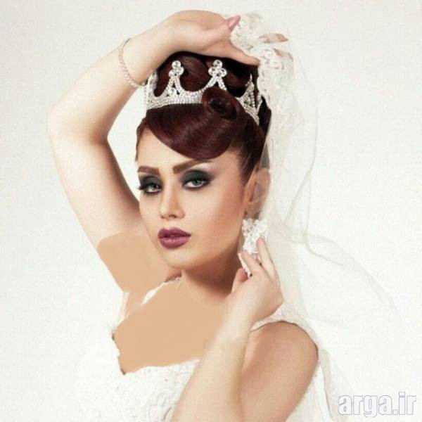 مدل موی پرنسسی عروس