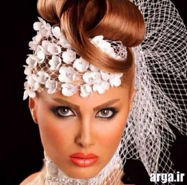 مدل مو و تاج عروس