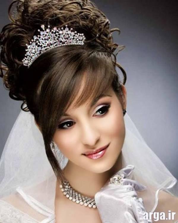 مدل تاج و موی عروس