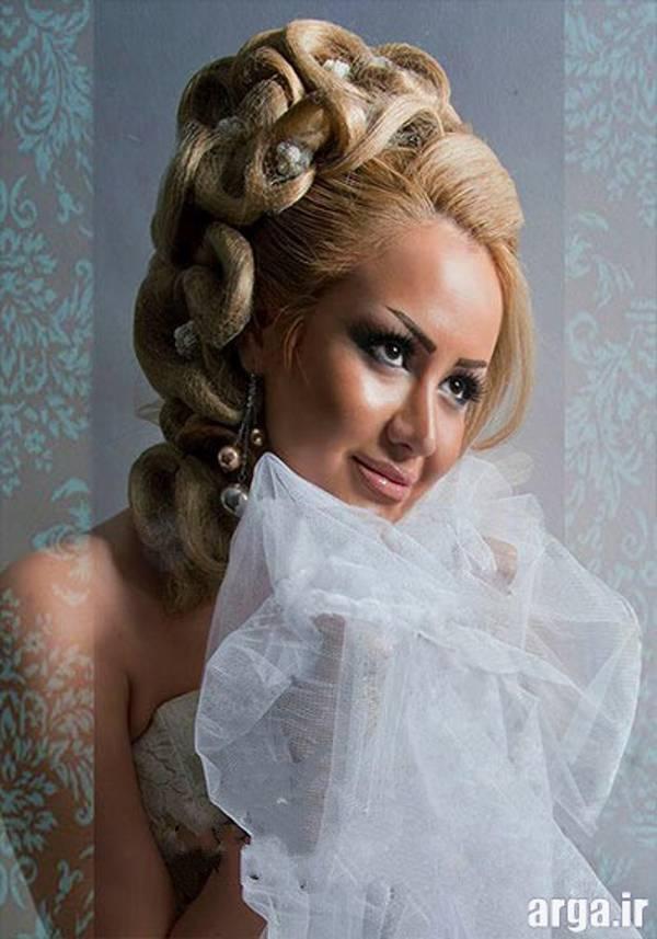 مدل موی بلوند عروس