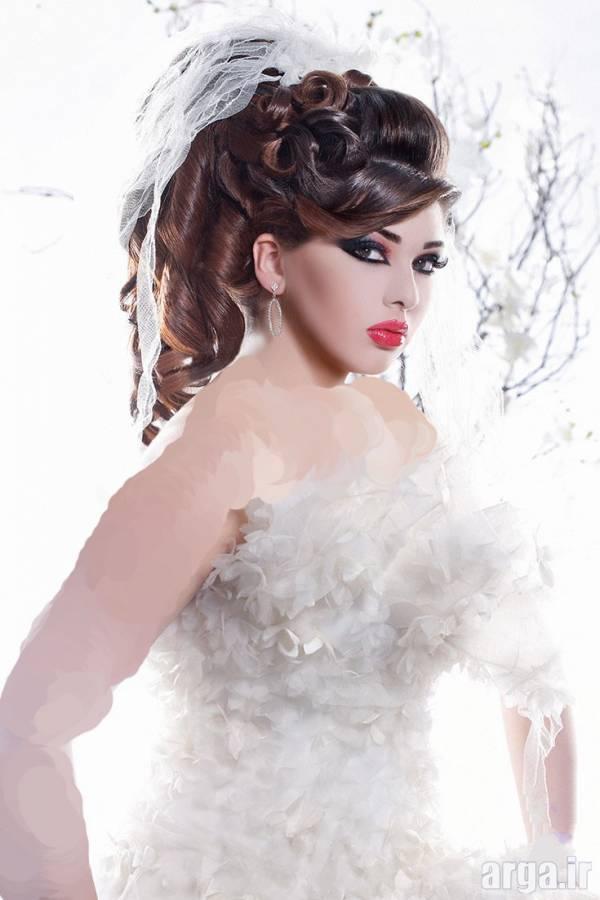 مدل موی عربی عروس