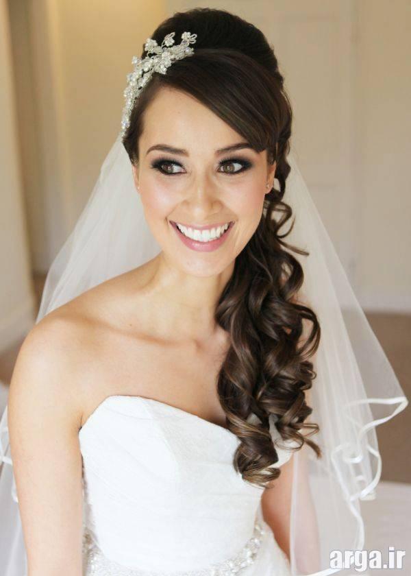 مدل موی اروپایی شیک عروس