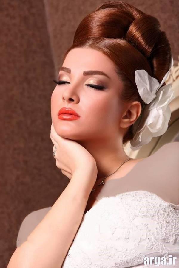 دومین مدل موی عروس شیک