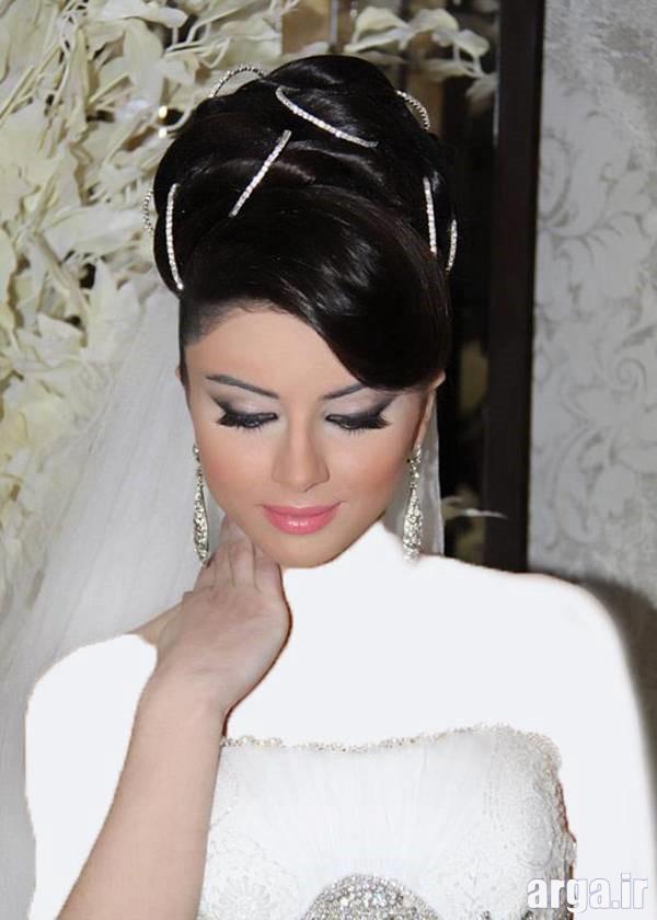 سومین مدل موی عروس شیک