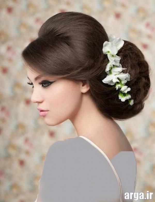 چهارمین مورد از عکس های مدل مو عروس
