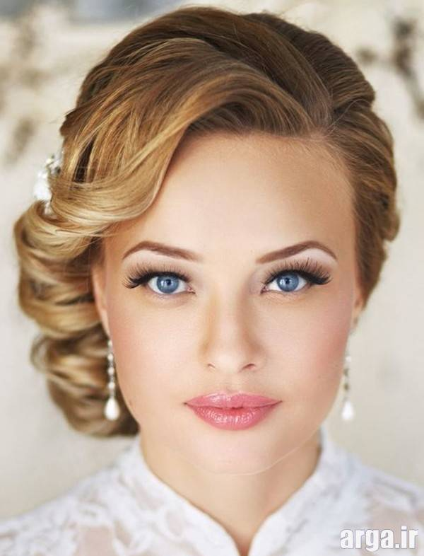 مدل مو عروس شیک