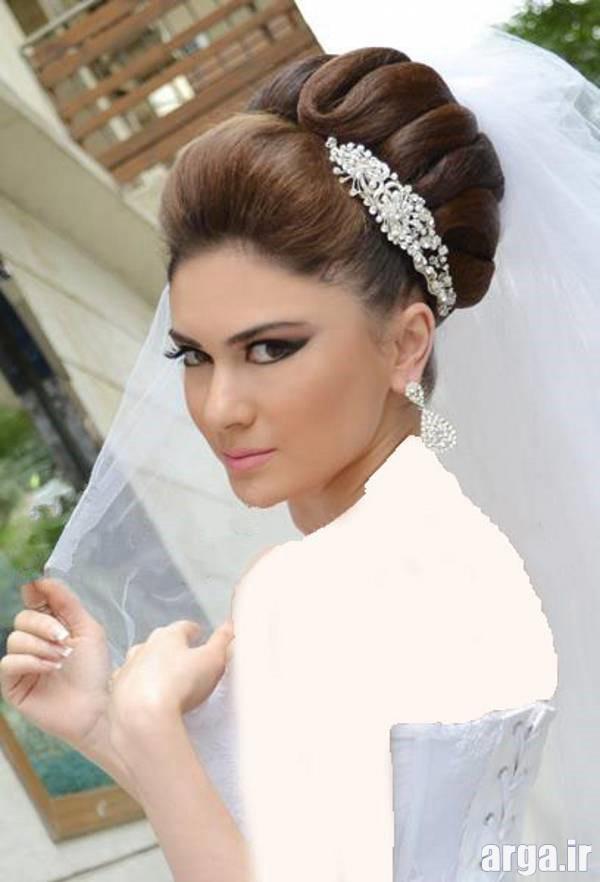 پنجمین مدل موی عروس