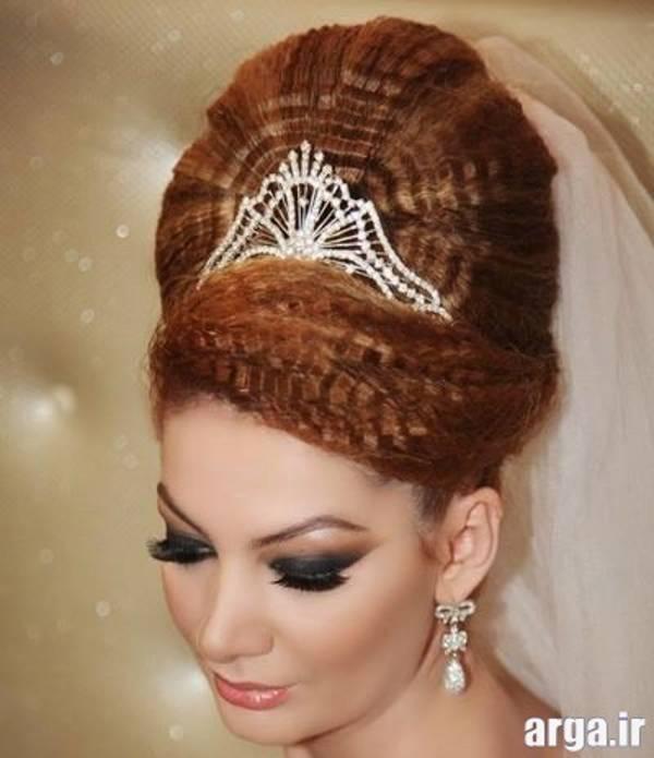 مدل مو عروس فردار