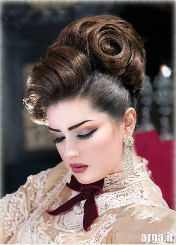 مدل مو عروس باکلاس