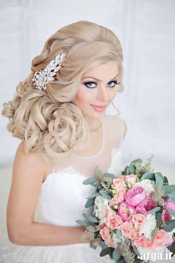 مدل مو عروس بلوند