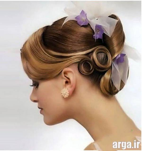 مدل موی عروس زیبا و مدرن
