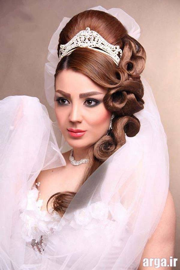 مدل موی عروس زیبا و باکلاس