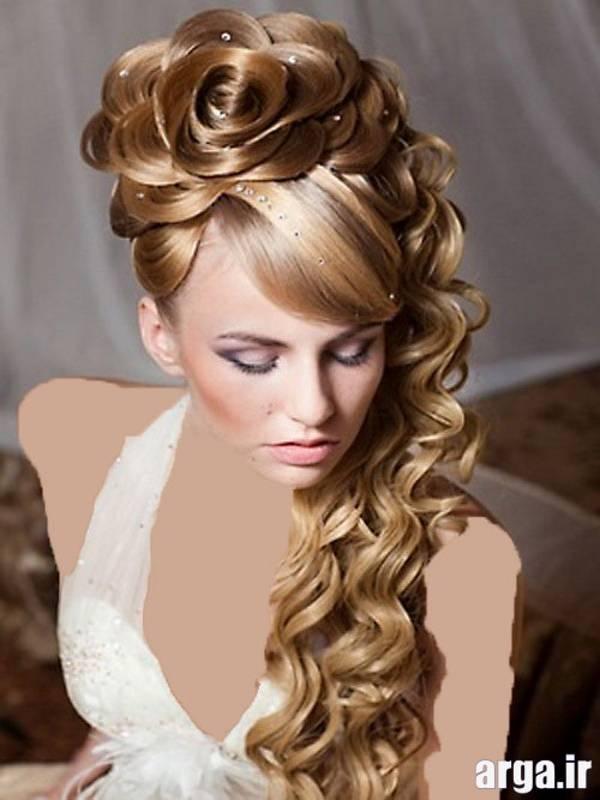 مدل موی عروس شیک و باکلاس