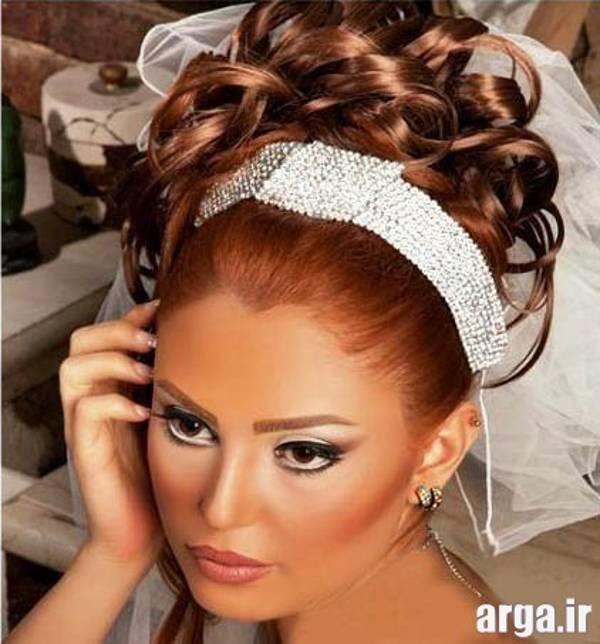 مدل موی عروس شیک و زیبا