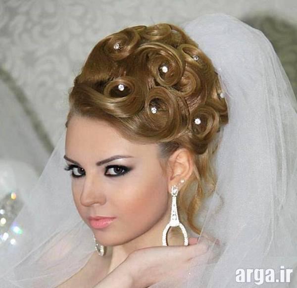 مدل موی عروس زیبا و جدید