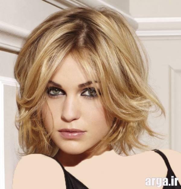 مدل موی بلوند دخترانه