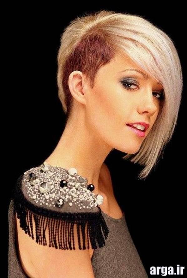 مدل موی دخترانه بلوند جدید