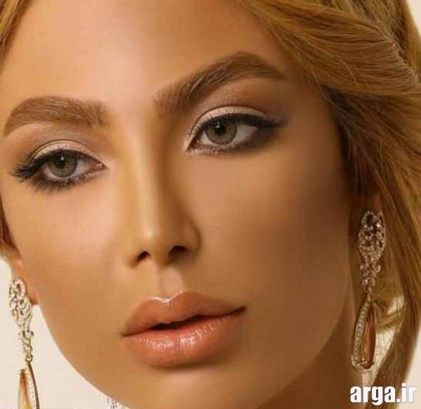 مدل آرایش صورت مدرن