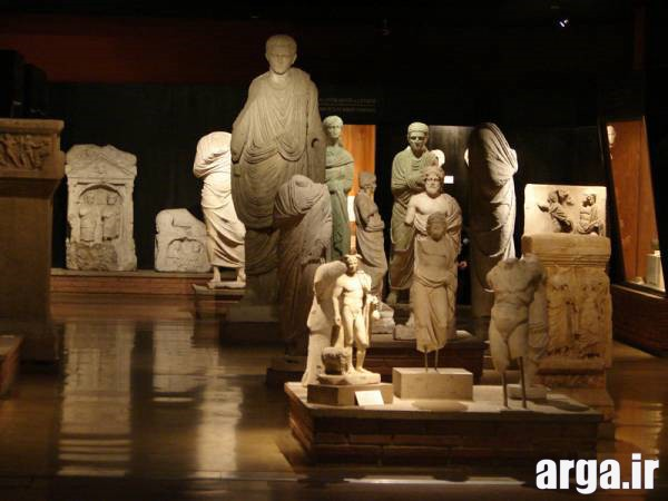 داخل موزه باستانشناسی استانبول