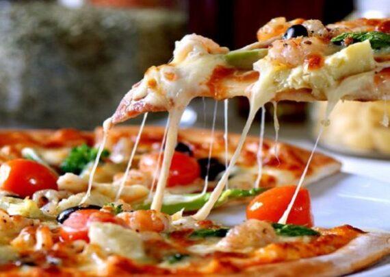 طرز تهیه پیتزا گوشت و قارچ