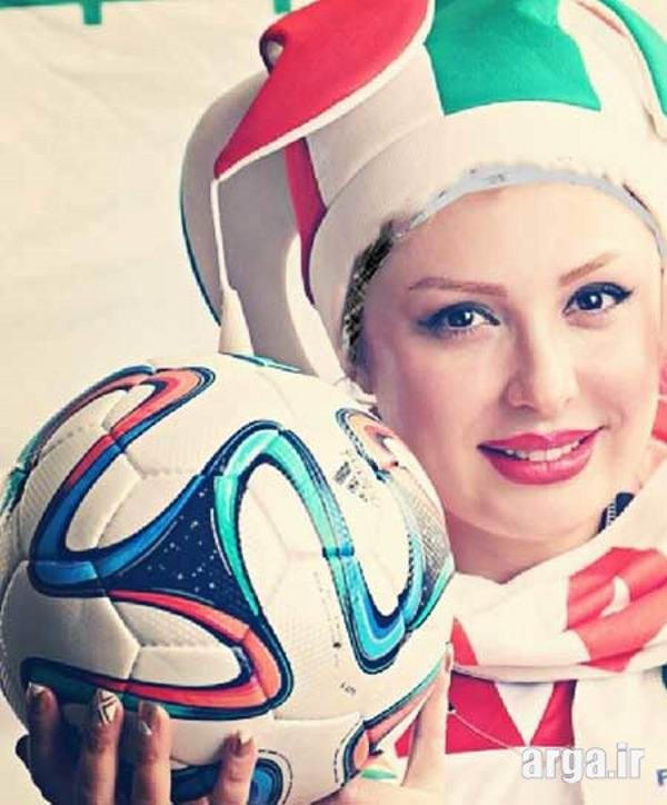 عکس نیوشا ضیغمی در فوتبال