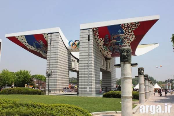 پارک المپیک 2 در عکس های سئول