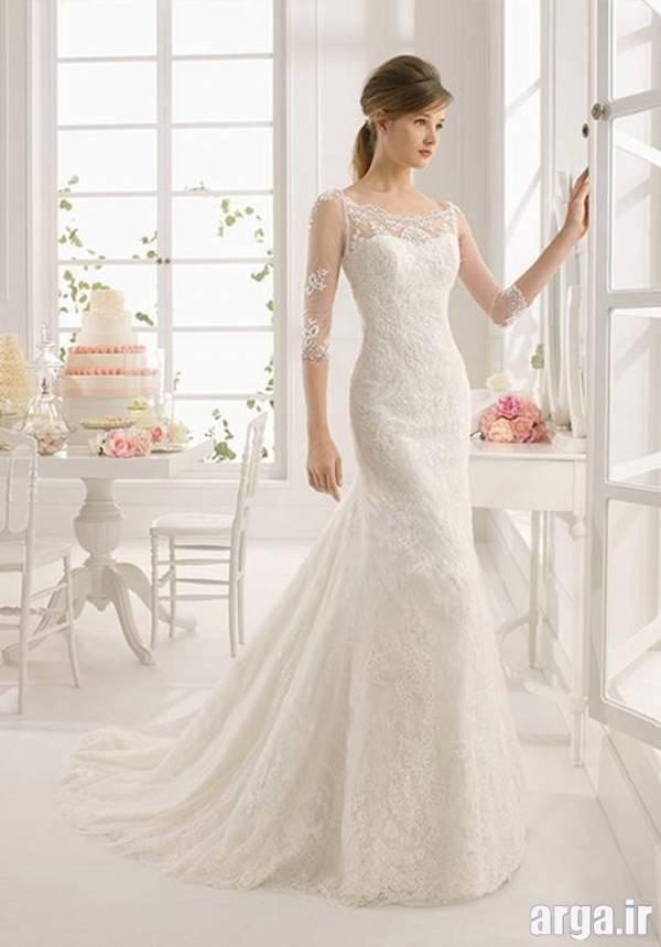 اولین مدل لباس عروس اروپایی