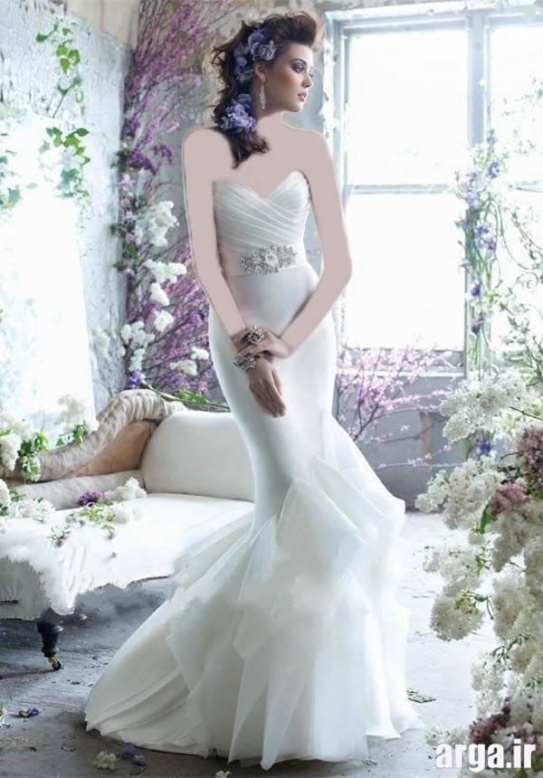 لباس عروس شیک اروپایی
