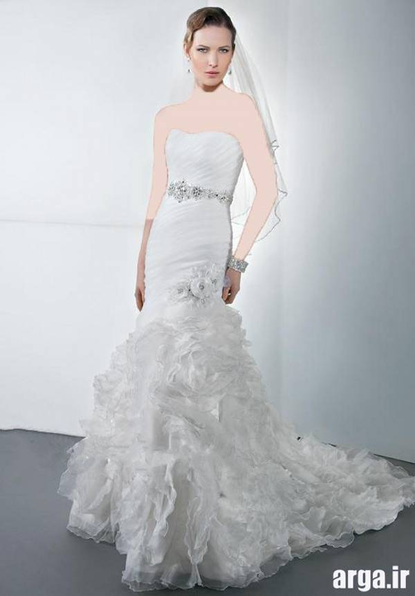 دومین مدل لباس عروس اروپایی