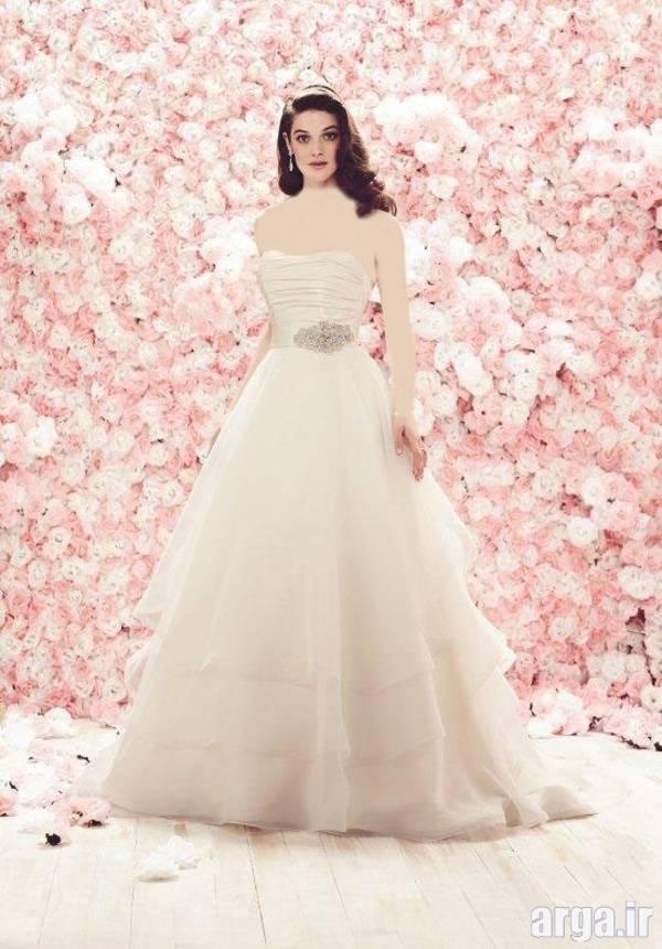 لباس عروس زیبای اروپایی