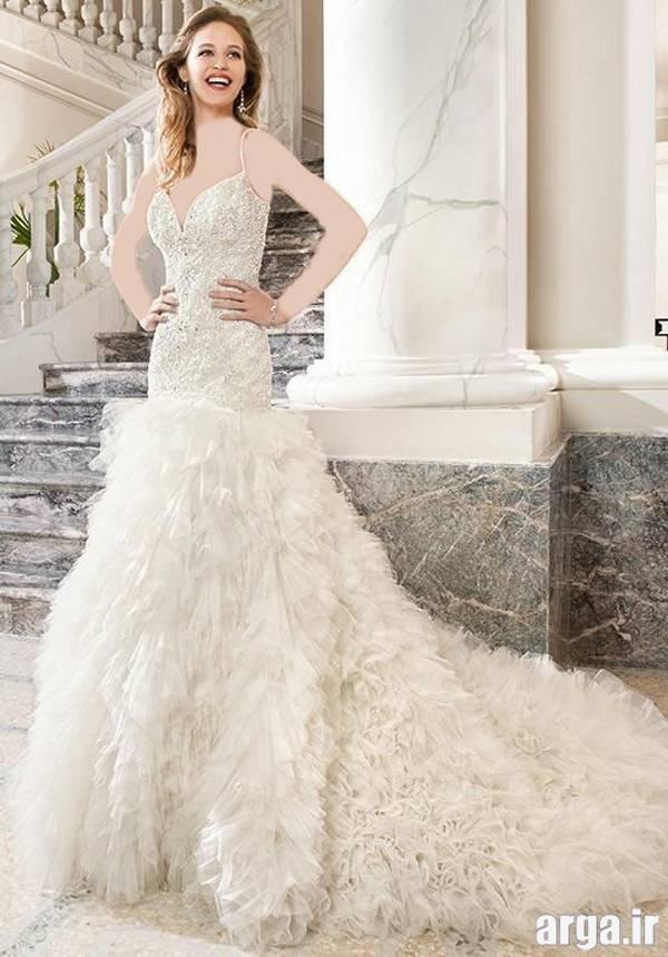 چهارمین مدل لباس عروس اروپایی