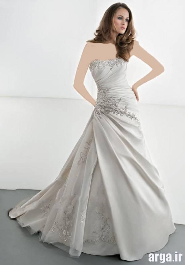 لباس عروس ساده و جدید