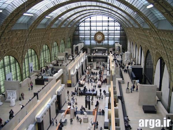 نمای داخل موزه اورسای در پاریس