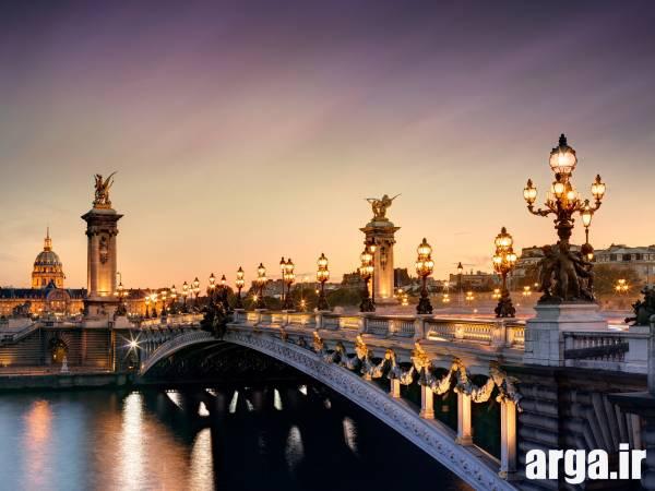 یک پل در تصاویر پاریس