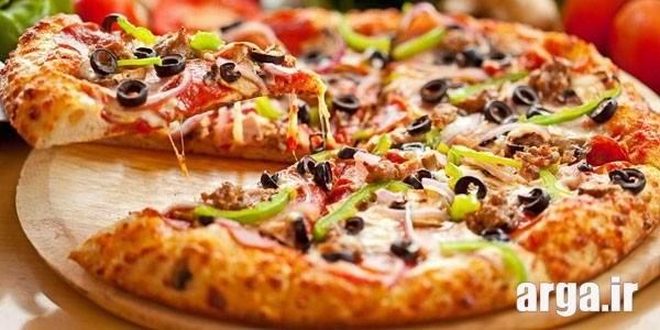 چاشنی های پیتزا