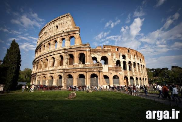 تصویری دیگر از بنای تاریخی رم