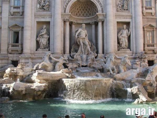 فواره آب شهر رم