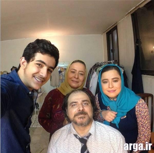 عکس سلفی مهراوه شریفی نیا