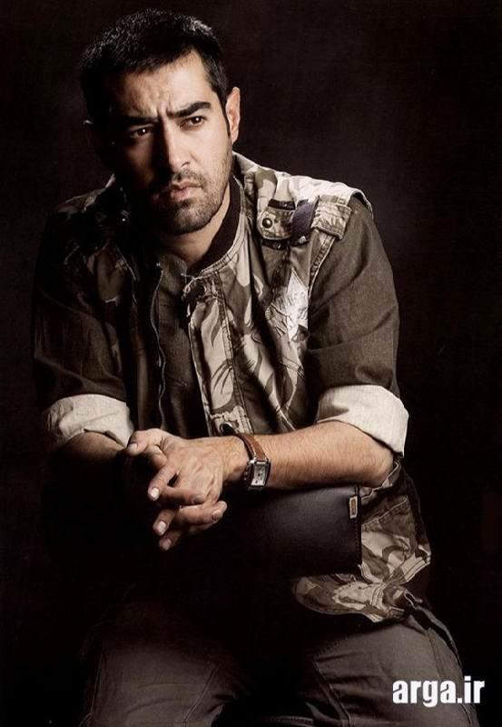 عکس نشسته شهاب حسینی