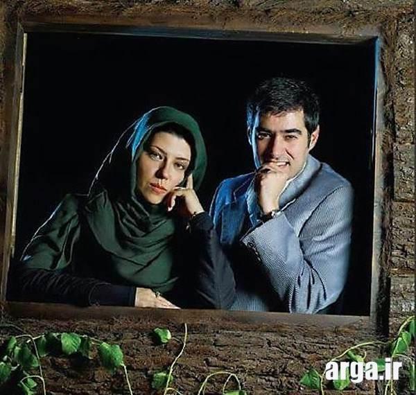 عکس شهاب حسینی با همسر