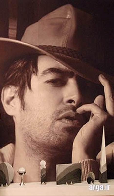 عکس شهاب حسینی با کلاه