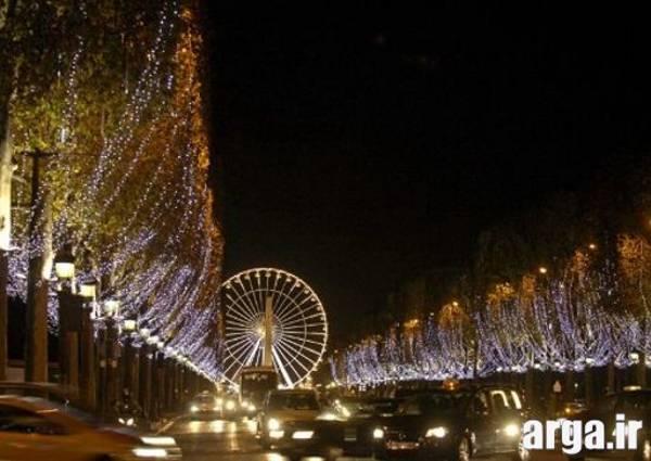نمای دیگر خیابان شانزلیزه در پاریس
