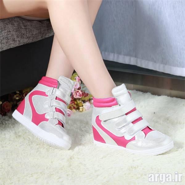 کفش اسپرت دو رنگ