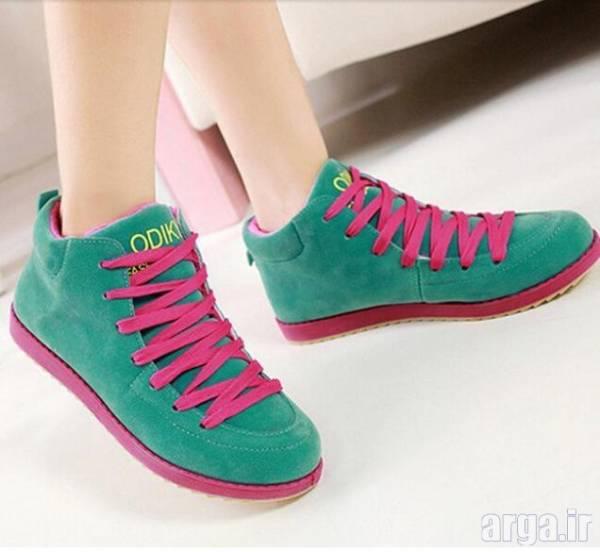کفش اسپرت سبز